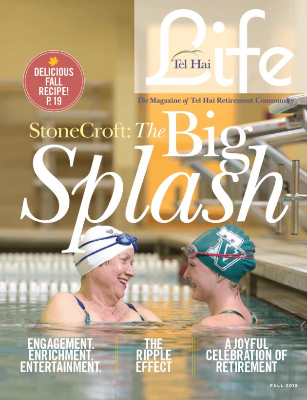 "A ""Big Splash"" for Tel Hai Life Magazine"