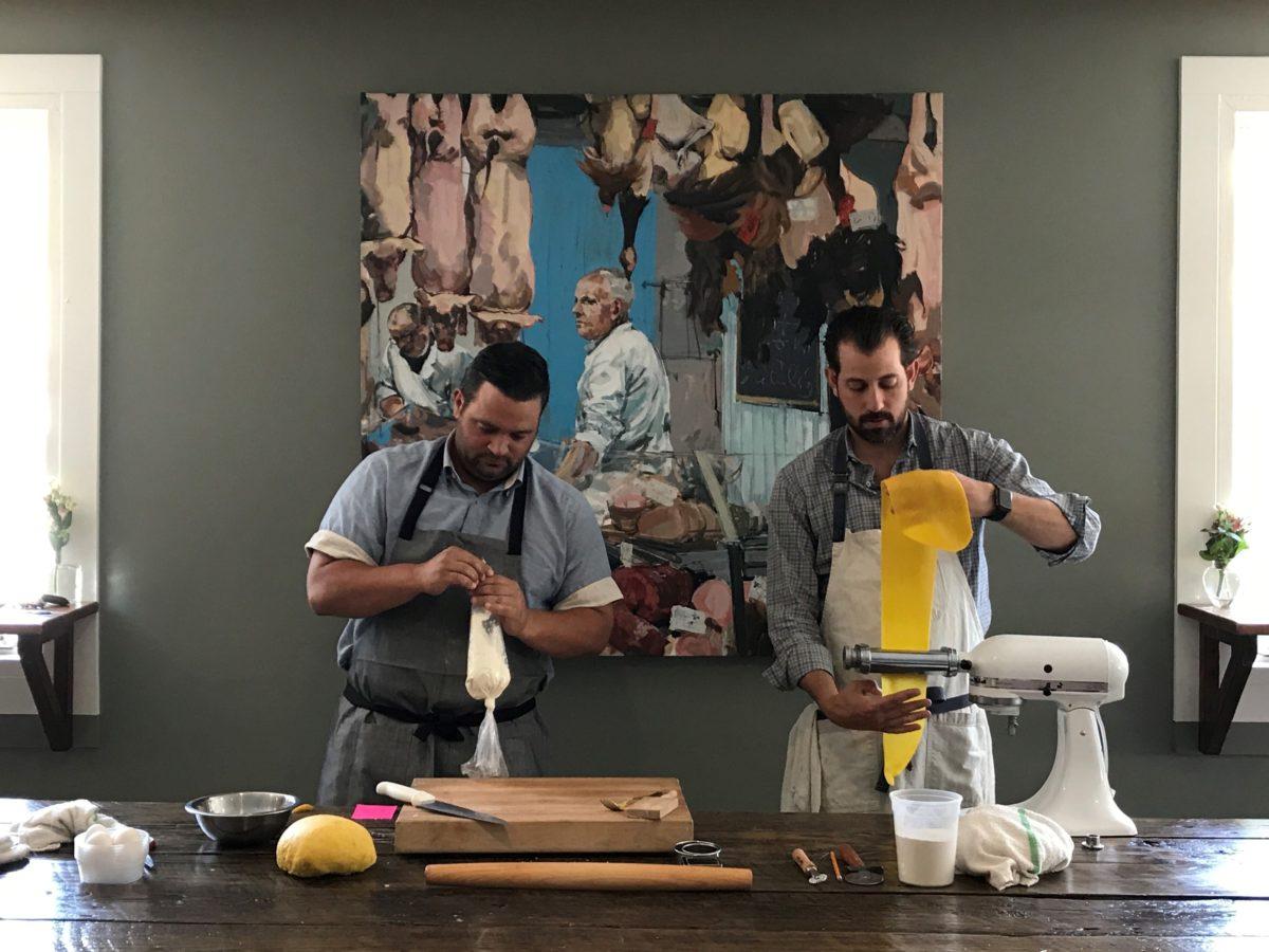 Client's Event Features Famous Chefs